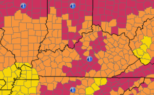 louisville radon inspection areas and zones